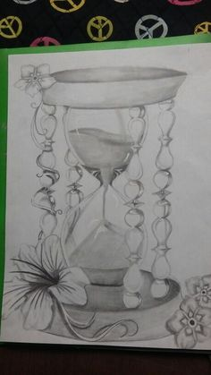Hour glass  tattoo design for my best friend                                                                                                                                                                                 Mais