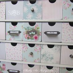 vintage craft rooms | Make sure and go to Kerryanne's blog for more information and also ...