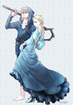 Frozen Sherwood by Yamygugu on deviantAR Jelsa