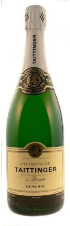 """Nothing says """"Paris""""  more than Champagne! Taittinger Demi-sec Champagne"""