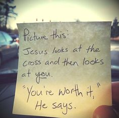 Your worth it❤️️