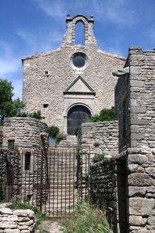 chapelle Saint-Michel Saignon. Provence-Alpes-Côte d'Azur