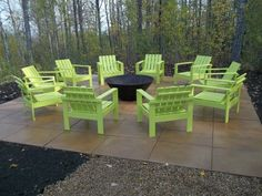 Simple Outdoor Chairs For The Firepit | Do It Yourself Home Projects From Ana  White