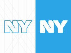 NY (NEW YORK) #logo