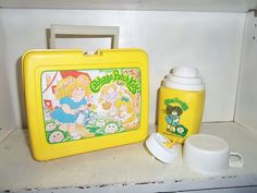 Vintage 1983 Cabbage Patch Kids I totally wanted this lunch box!