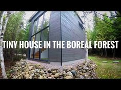 Tour of a Tiny House In the Quebec Forest. - YouTube