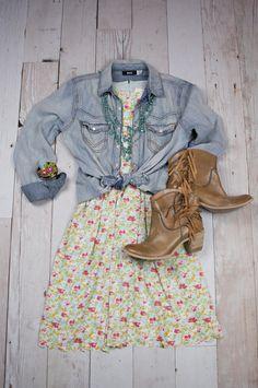 Hello, Lovely! Spring 2015: Poppy Field Dress