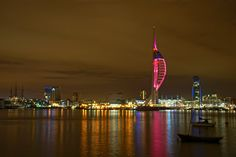 Overlooking #Portsmouth Harbour #SpinnakerTower