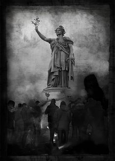République, manifestation Charlie. La France est unie pour les grandes idées. Paris, Alphabet, Painting, France, Trainers, Photography, Montmartre Paris, Alpha Bet, Painting Art