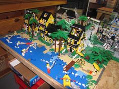 Image result for lego beach house