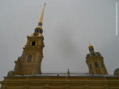 The Peter and Paul Cathedral, 1712-1733.