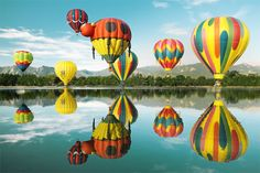 The Colorado Balloon Classic  was organized in 1977 and has grown to be the largest and the longest continuously running hot air balloon festival in the Rocky Mountain Region as well as the State of Colorado. LOVE IT!