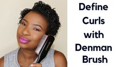 Short Hair Waves, How To Curl Short Hair, Short Curls, Short Curly Hair, Short Hair Cuts, Short Hair Styles, 4c Natural Hair, Natural Hair Styles, Afro
