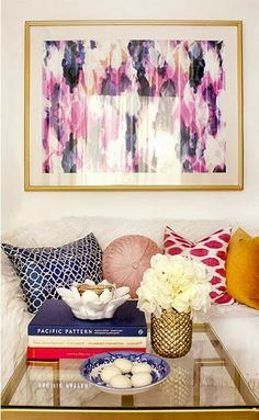 Styling a Coffee Table - The Pink Doormat