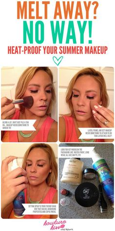 15 Tips On How To Summer Proof Your Makeup To Beat The Heat