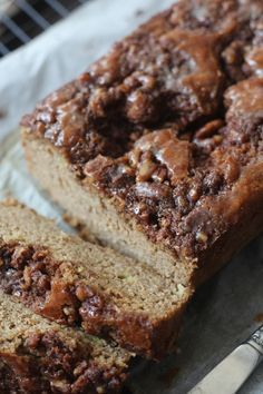 PaleOMG Coffee Cake Banana Bread #food #paleo #glutenfree