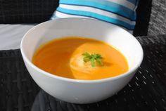 Pumpkin & Sweet Potato Soup