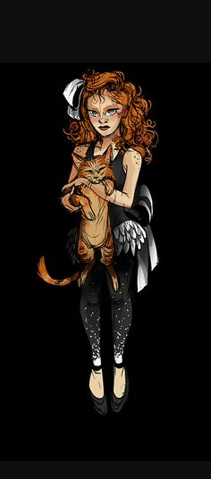 The Night Circus  Celia Bowen by Sephirienne deviantart com on     Cats and acrobats  the perfect  purrfect   Poppet from The Night Circus