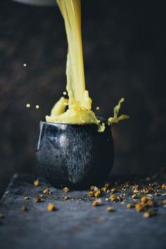 chamomile trumeric evening tea