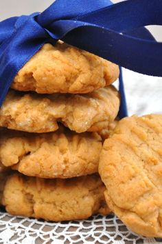Melt In Your Mouth Peanut Butter Cookies Recipe