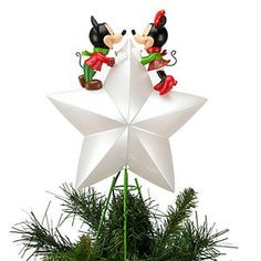 We Have Never Officially Had A Real Christmas Tree Topper So I  - Mickey Mouse Christmas Tree Topper