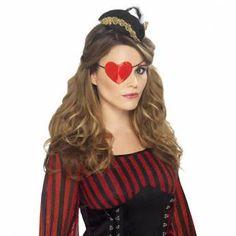Ooglap hartvorm  ( piraat )