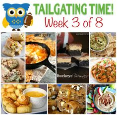 It's game time! Do you love tailgating? We have you covered on recipes with Tailgating Food Ideas Week 3 of Every tasty dish you could want for the game Finger Food Appetizers, Easy Appetizer Recipes, Yummy Appetizers, Tailgating Recipes, Tailgate Food, Football Recipes, Grilling Recipes, Great Recipes, Favorite Recipes