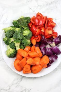 Air Fryer Vegetables | Air Fryer Roasted Vegetables - Recipe Vibes Air Fried Vegetable Recipes, Vegetable Prep, Veg Recipes, Healthy Recipes, Microwave Vegetables, Steamed Vegetables, Air Fryer Dinner Recipes, Air Fryer Recipes Easy, Vegetable Seasoning
