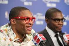 Russell Westbrook and Kevin Durant, Oklahoma City Thunder NBA Finals