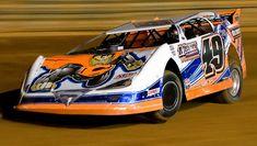 Jonathan Davenport Racing | Jonathan Davenport at Bulls Gap, Tn. sporting his Superman wrap