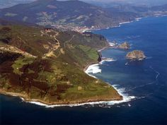The coast of the Basque Country  Such beautiful country..I need to return....