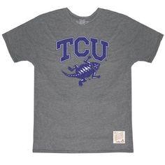 TCU Horned Frogs Men's Short Sleeve Tee.