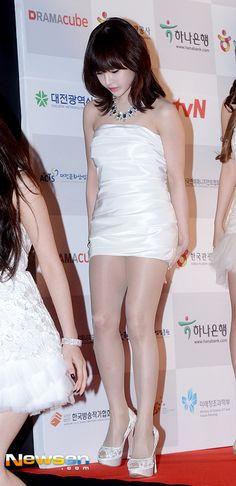[포토엔]티아라 보람 '짧아도 너무 짧은 드레스'