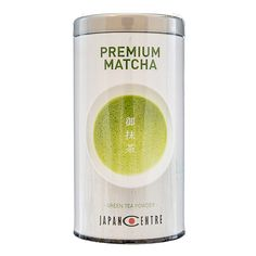 Japan Centre's own premium matcha green tea, made using the highest quality tea leaves and stone ground in Shizuoka. Whisk into a refreshing cuppa or use in Japanese cooking!