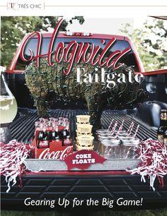 Go Hogwild with this #Razorback tailgate!