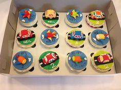 Cars n Planes Cupcakes