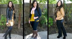3 Fall Outfits for the curvy girl Love all of them specially the middle one!