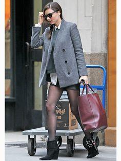 ミランダ・カー(Miranda Kerr)のスタイリッシュな大人プレップ