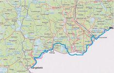 Kart grensesømmen - Klikk for stort bilde Diagram, Map, World, Pictures, The World, Maps, Peta, Peace, Earth
