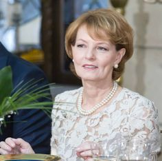 Princess Margarita of Romania - Political Brunch to celebrate King Michael's birthday and name-day. Romanian Royal Family, Royal Hairstyles, Imperial Russia, European History, The Crown, Descendants, Queen Elizabeth, People Like, Rey