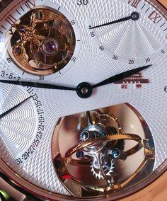 """Beijing Watch Factory Wu Ji """"Infinite Universe"""" Bi-Axial Tourbillon Watch Hands-On"""