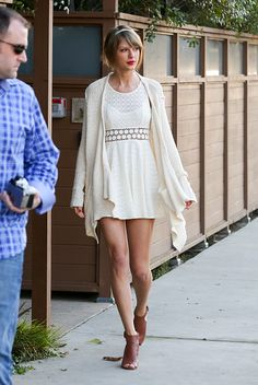 Out in Los Angeles.   - ELLE.com