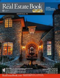 Knoxville TN Real Estate Book - Check out our cover home!