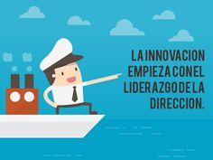 """""""La innovación empieza con el liderazgo de la dirección"""""""