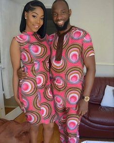 Latest Ankara Styles For Couples in 2018 - Wedding Digest Naija Ankara Styles For Men, Ankara Gown Styles, Latest Ankara Styles, Ankara Dress, Ankara Blouse, Couples African Outfits, Couple Outfits, Ankara Designs, African Wear