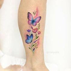 ▷ 1001 + ideas for tattoo on the foot, ankle or calf - tattoo feminina Pretty Tattoos, Love Tattoos, Beautiful Tattoos, Body Art Tattoos, New Tattoos, Small Tattoos, Tatoos, Tattoos Skull, Tiny Tattoo