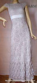 Olá!!!   Hoje venho apresentar meu último trabalho de 2012   o Vestido Megan: