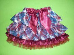 Шитье: пышная юбочка с оборками для девочки МК