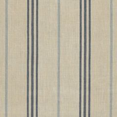 Maritime Linen Ticking - Blue - Stripes - Fabric - Products - Ralph Lauren Home - RalphLaurenHome.com {Andrew}