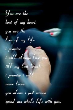 :) MY PROMISE TO YOU MY LOVE!!!! ALWAYS N FOREVER